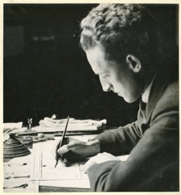 William Glenn at work